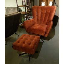 Flynn UrbanSofa fauteuil (met hocker)