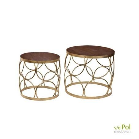 salontafel-goud-set-van-2-stin019