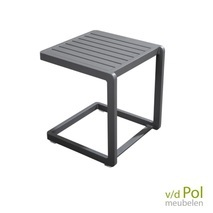 YOI Hokan lounger side table dark grey