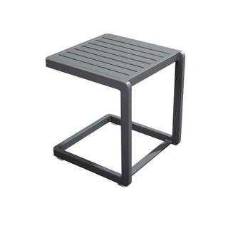 tafeltje buiten yoi hokan grijs aluminium