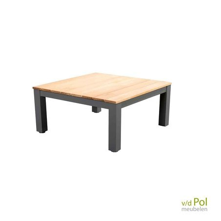yoi-midori-tuin-salontafel-vierkant-75x75-cm-dark-grey-teakhout-aluminium