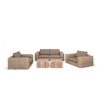 loungeset loungebank loungestoelen FFF hout blokken twiggy apple bee
