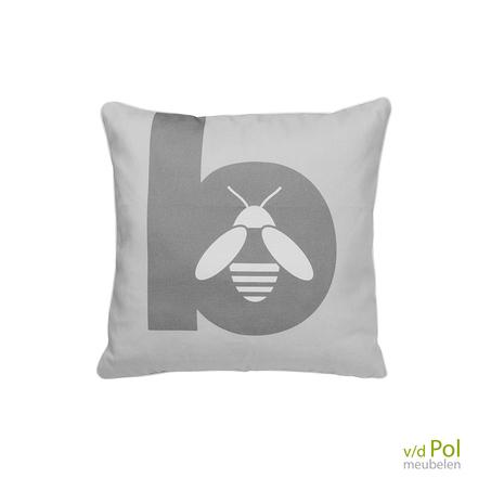 sierkussen-applebee-grijs-45x45-cm-bee-wett-weerbestendig-vierkant-outdoor
