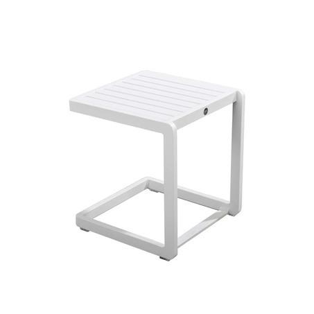 yoi hokan bijzettafel tuin wit slide bijzettafel