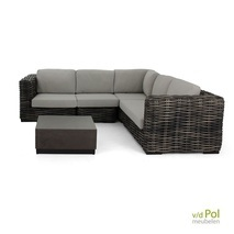 Applebee Elements XL loungeset Blackwash