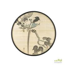 Morita Bird By Boo wanddecoratie bamboe