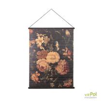 By Boo Miyagi flowers wanddecoratie