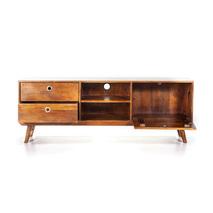 Eleonora Wisconsin - vintage tv meubel mangohout