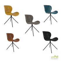 Zuiver OMG stoelen leer look - 5 kleuren