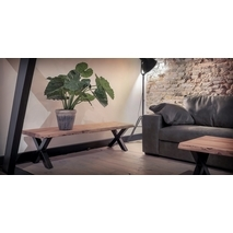 UrbanSofa Live Edge tv meubel 130/160/190