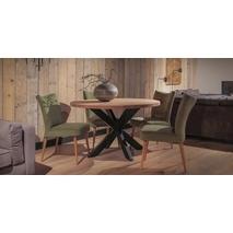 Ronde eettafel hout 150 cm