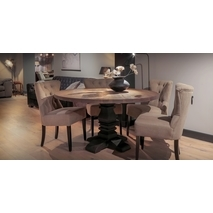 Robin ronde tafel kloosterpoot 150cm