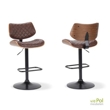 vintage-design-barkruk-draaibaar