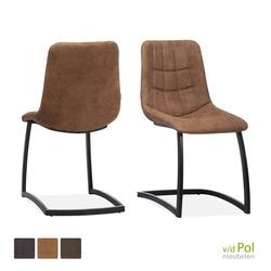 industriele-stoel-cognac-zwart
