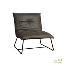 Seda fauteuil zonder armleuning grijs