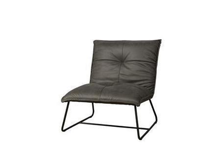 eda is een industriële fauteuil zonder armleuning met dun metalen frame - NC 0175