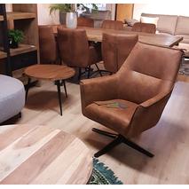 Bronco - draaibare fauteuil - 4 kleuren