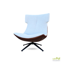 CD2118 Brede fauteuil hoge rugleuning