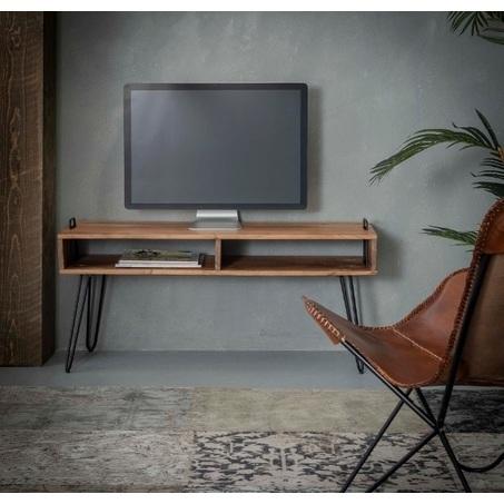 tv-meubel-kast-acaciahout-metalen-poot-hout-vakken