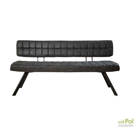 eetkamerbank-zwart-met-stiksel-pu-lederlook-150-cm
