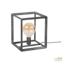Tafellamp Oud zilver