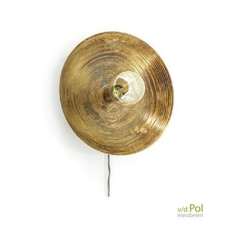 wandlamp-horus-klein-brons-vintage-ronde-lamp-byboo