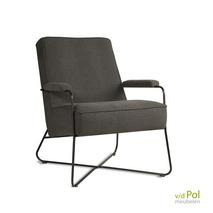 Jill - stoere fauteuil industrieel