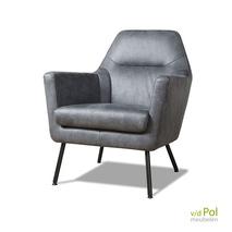 Lush - moderne fauteuil zwarte poten