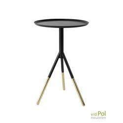 dutchbone-elia-bijzettafel-rond-zwart-metaal-modern-trendy