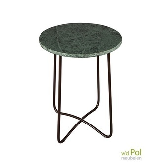 dutchbone-emerald-bijzettafel-zuiver-brons-groen-marmer