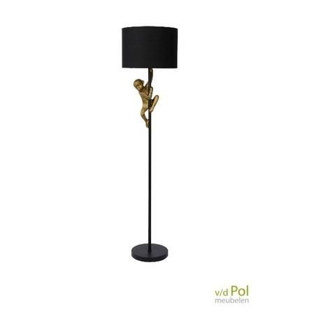 vloerlamp-aapje-goud-chimp-zwart