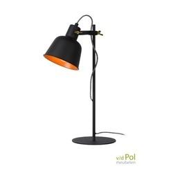 tafellamp-kap-zwart-mat-goud-staande-lamp-bureaulamp