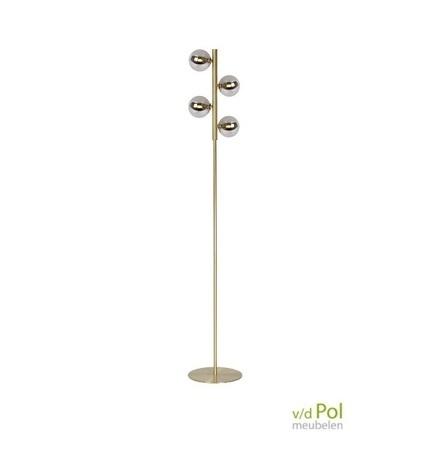 vloerlamp-4-lichtbollen-mat-goud-messing-staande-lamp