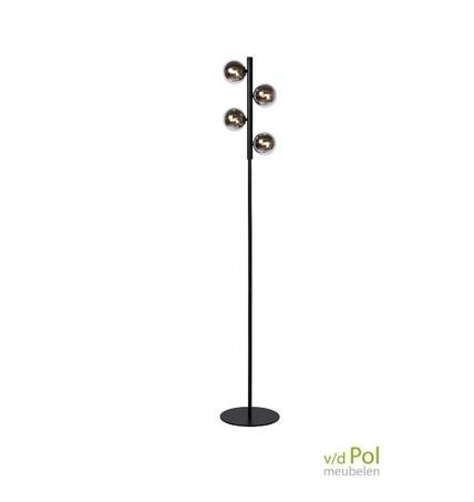 vloerlamp-4-lichtbollen-zwart-staande-lamp