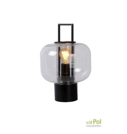 tafellamp-lantaarn-zwart-gaslamp-glasbol