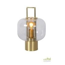 Tafellamp Lantaarn mat goud