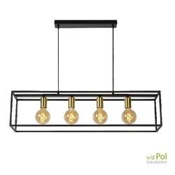 hanglamp-zwart-metaal-4-lichtbronnen