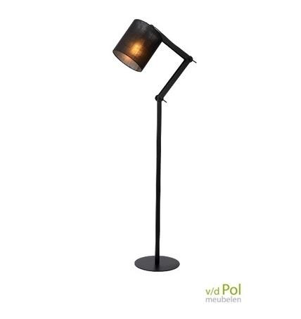 vloerlamp-linnen-kap-metaal-verstelbaar-kantelbaar