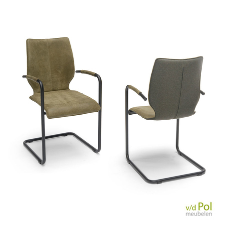lunette-brees-new-world-stoel-met-leuning-zwart