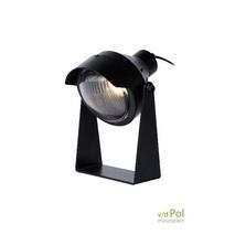 Tafellamp Koplamp zwart
