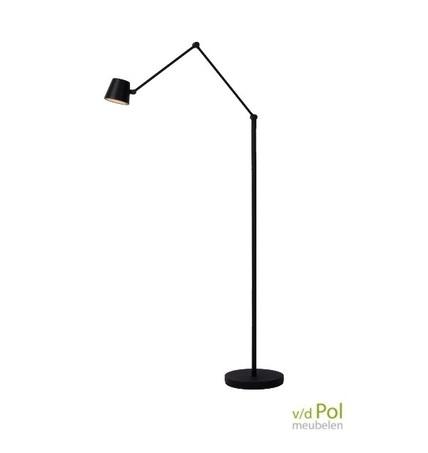 klassieke-leeslamp-zwart-metaal-kantelbaar-verstelbaar