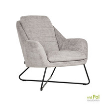 DTP Interiors fauteuil Dream - taupe of charcoal