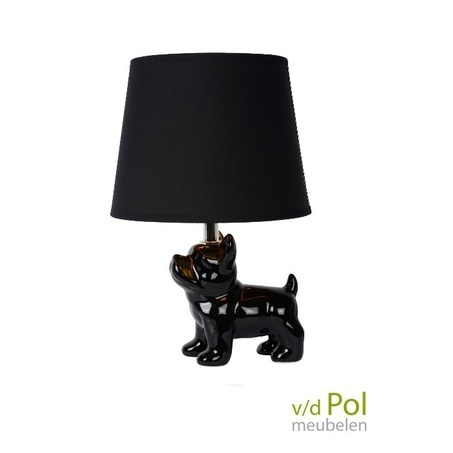 tafellamp-zwarte-hondje