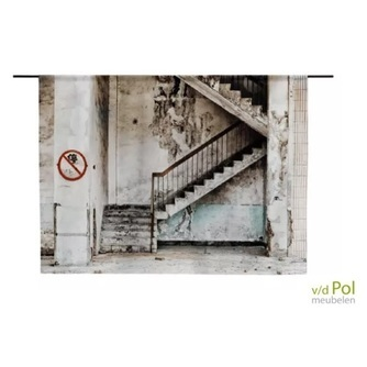 wandkleed-urban-cotton-concrete-stairs