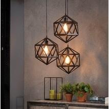 Hanglamp Triangel zwart