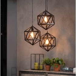 hanglamp-triangel-zwart-metaal