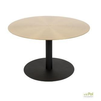 salontafel-snow-brushed-brass-zuiver-messing