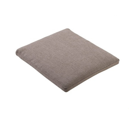 buitenkussen voor tuinstoel mizu, hokan of ishi van yoi furniture in afmeting 40x42 cm en kleur flax