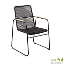YOI Furniture Tuinstoel Wasabi zwart