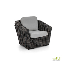 Applebee Palm Bay lounge fauteuil black